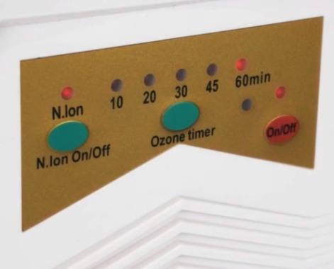 Панель управления озонатора