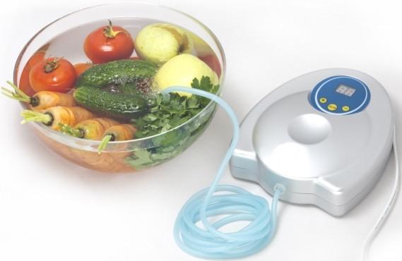 """С помощью """"GL-3188"""" можно озонировать воду с помещенными в нее продуктами, что продлит их свежесть"""