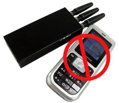 Портативный подавитель GSM и 3G связи надежно блокирует работу мобильных телефонов и не только