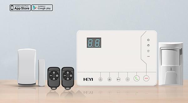 """Беспроводная GSM сигнализация """"HY-528A"""" обладает современным дизайном"""