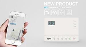 """Управлять беспроводной сигнализацией """"HY-528A"""" можно с помощью любого смартфона или планшета с операционной системой Android или iOS"""