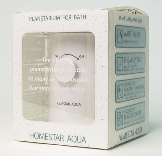 Планетарий HomeStar Aqua поставляется вот в такой стильной картонной упаковке