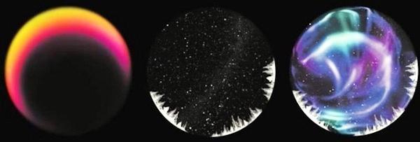 HomeStar Aurora Alaska проецирует настоящее световое шоу