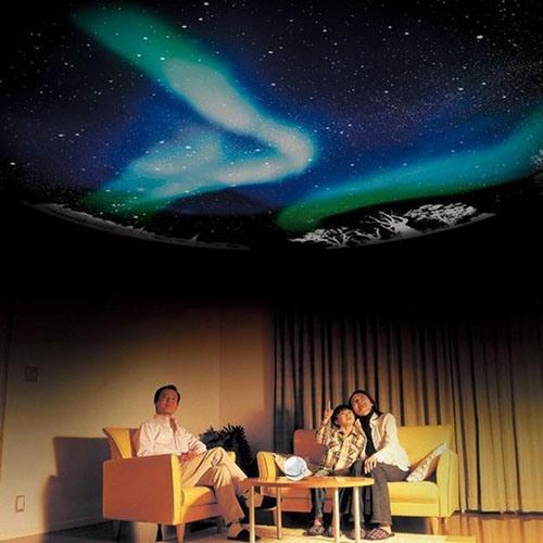 Домашний планетарий HomeStar Aurora Alaska позволит Вам наслаждаться звездным великолепием, раскинувшимся прямо на потолке Вашей комнаты!