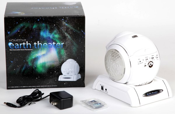 Комплектация домашнего планетария Homestar Earth Theater