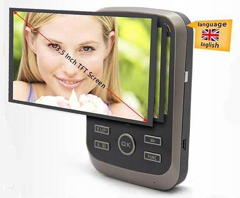 Монитор видеодомофона KIVOS имеет компактные размеры и достаточно большой для таких габаритов экран