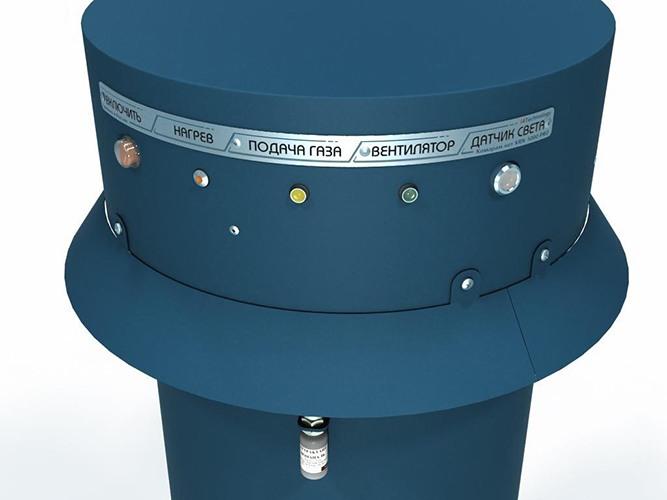 """""""Комарам.нет KRN-5000 PRO"""" оснащен несколькими индикаторами, глядя на которые, можно почерпнуть сведения о функционировании его основных систем (кликните по фото для его увеличения)"""