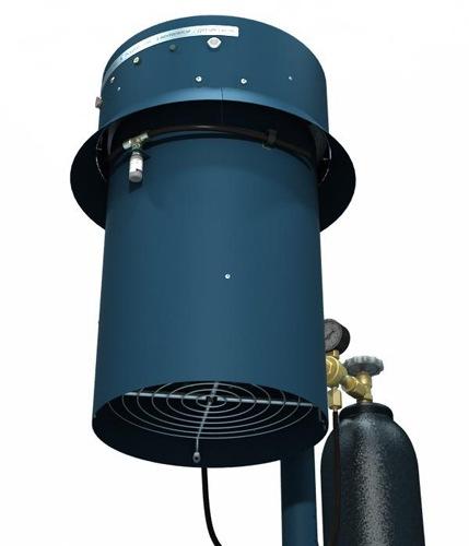 """Уничтожитель комаров Установка """"Комарам.нет KRN-5000 PRO"""" в качестве приманки использует: тепло, углекислый газ и запах пота (аттрактант """"Нонаналь"""")"""