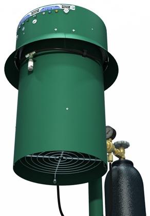 """Уничтожитель комаров Установка """"Комарам.нет KRN-5000 Турбо PRO"""" в качестве приманки использует: тепло, углекислый газ и запах пота (аттрактант """"Нонаналь"""")"""