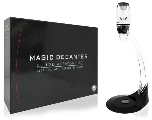 """Аэратор для вина """"Magic Decanter"""" поставляется в красивой подарочной упаковке"""