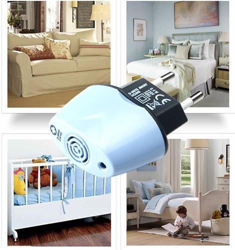 """Ультразвуковой отпугиватель  """"MiteLess  Home"""" — действенное средство защиты от пылевых клещей и аллергенов, которые они распространяют по дому"""