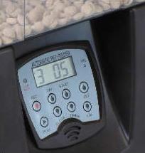 ЖК дисплей и панель управления автоматической кормушки SITITEK Pets Tower-10