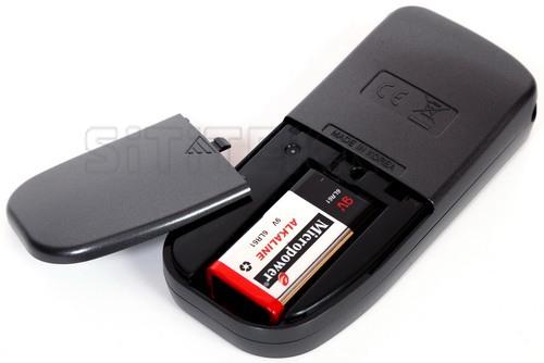 Алкотестер SITITEK CA20F работает от одной батарейки