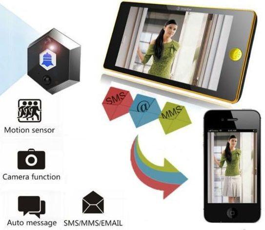 """Видеоглазок """"SITITEK Crystal"""" может отправлять на смартфон SMS, MMS и e-mail"""