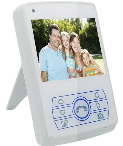 Монитор видеодомофона SITITEK Dome 3.5 имеет компактные размеры и достаточно большой для таких габаритов экран