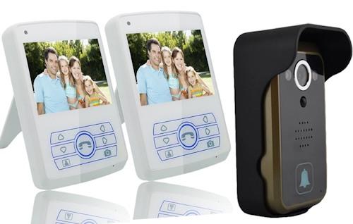 """Беспроводной видеодомофон """"SITITEK Dome 3.5"""" укомплектован двумя мониторами"""