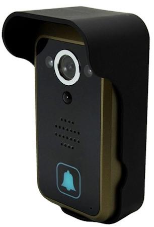 """Вызывная панель видеодомофона """"SITITEK Dome 7"""" может спокойно работать под воздействием солнечных лучей, дождя и пыли"""