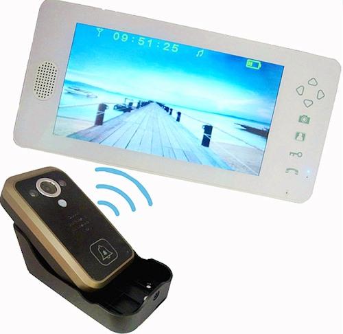 Монитор видеодомофона SITITEK Dome 7 имеет компактные размеры и достаточно большой для таких габаритов экран