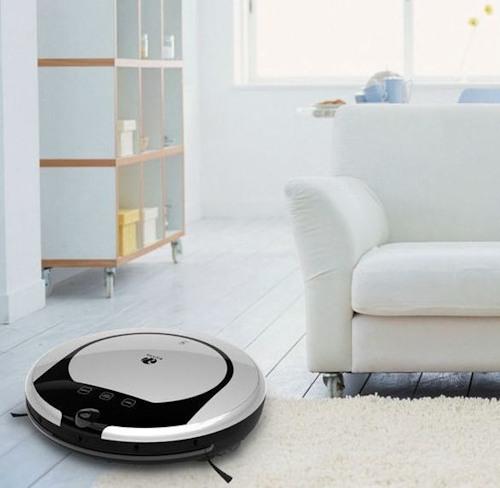 """Робот-пылесос """"SITITEK E55"""" имеет стильный дизайн, поэтому он легко станет частью любого интерьера"""