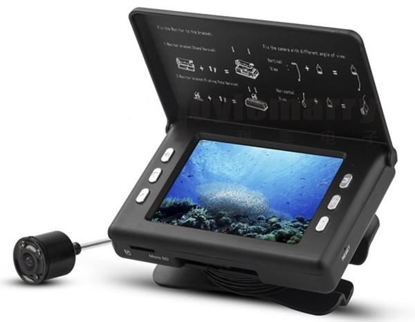"""Видеокамера для рыбалки """"SITITEK FishCam 350 DVR"""" может записывать видео на карту памяти"""