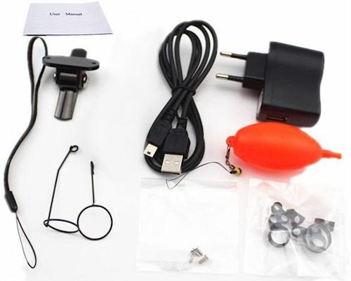 Видеокамера для рыбалки FishCam-350 укомплектована всем необходимым
