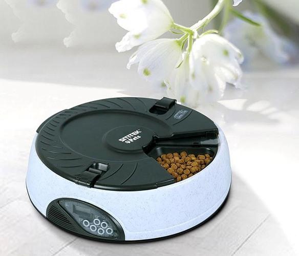 Кормушка SITITEK Pets Maxi — удобное устройство для организации автоматического кормления домашнего питомца в отсутствие хозяина