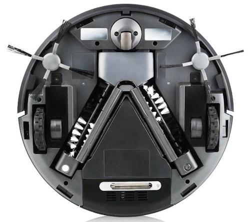 Внешний вид робота-пылесоса SITITEK QQ-5 снизу