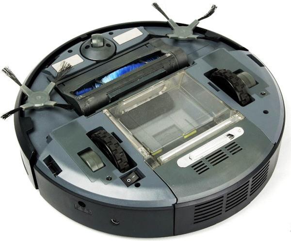 Внешний вид робота-пылесоса SITITEK QQ6 снизу