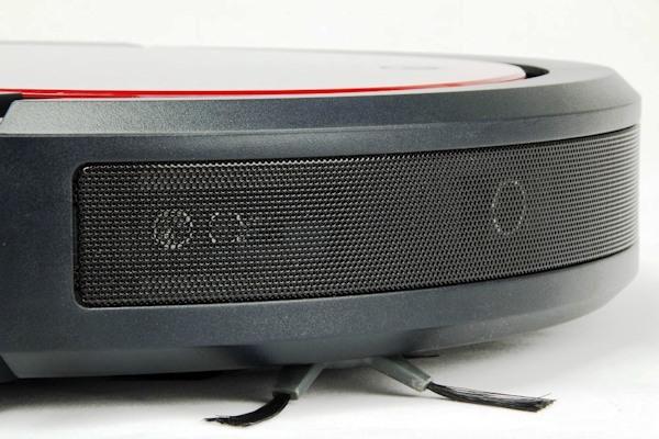 """В переднем бампере робота-пылесоса """"SITITEK QQ6"""" находятся ультразвуковые сенсоры обнаружения грязи и мусора"""