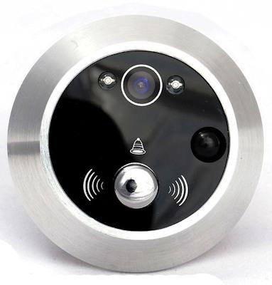 Видеоглазок  оборудован качественной камерой и датчиком движения
