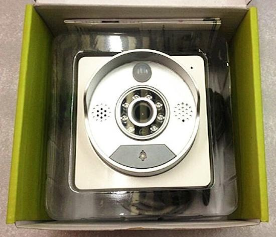"""Видеодомофон """"SITITEK Spot"""" в упаковочной коробке"""