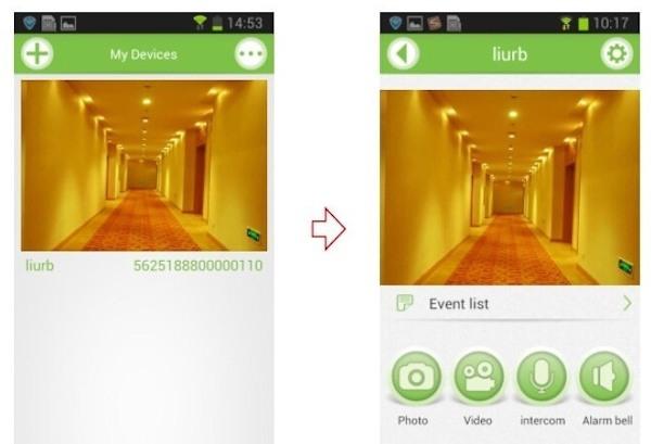 """Скриншот приложения """"SITITEK Spot"""" для устройств iOS и Android"""