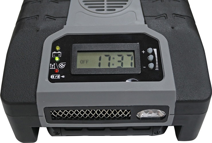 Прибор SITITEK Termolux-200USB оснащен ЖК-дисплеем