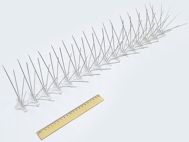 """Антиприсадные шипы """"SITITEK Барьер-Премиум"""" — это чрезвычайно длинные секции с большим количеством шипов"""