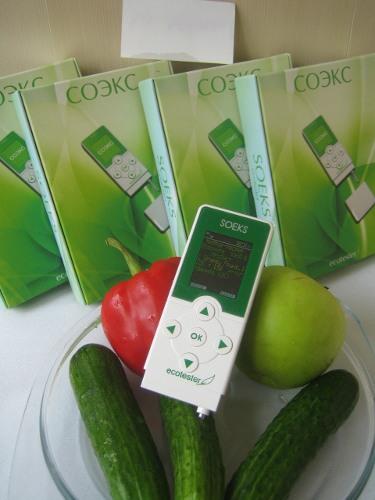 """Дополнительный режим экотестера """"Соэкс"""" — обнаружение и подсчет количества нитратов в продуктах"""