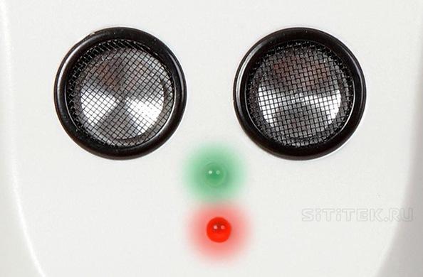 """Отпугиватель """"Sititek ГРОМ 2X"""" имеет 2 мощных ультразвуковых излучателя, каждый из которых выдает по 120 дБ (кликните по фото для его увеличения)"""