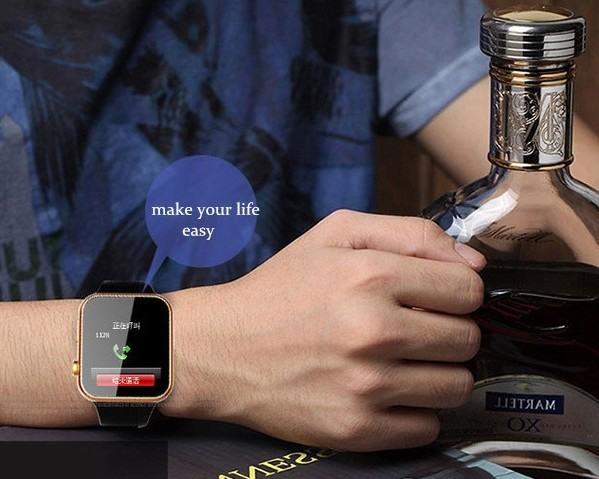 """Смарт часы """"A9"""" позволяют ответить на телефонный звонок, даже если  смартфон находится в нескольких метрах от Вас"""
