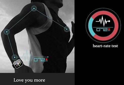 """Смарт часы """"A9"""" умеют подсчитывать сердечный пульс"""