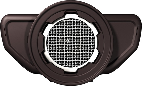 Ультразвуковой излучатель прибора с лицевой стороны защищает надежная  металлическая сетка (картинка увеличивается по клику)