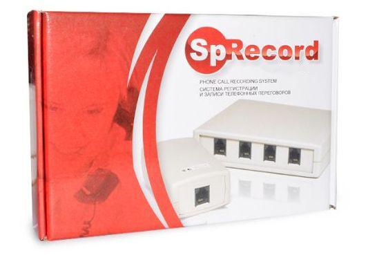 Комплектация системы записи телефонных разговоров SpyRecord AТ1