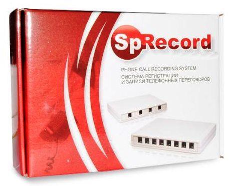 Комплектация системы записи телефонных разговоров SpyRecord AT1