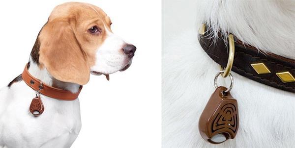 Отпугиватель-кулон TickLess Pet надежно защитит Вашего питомца от клещей и блох