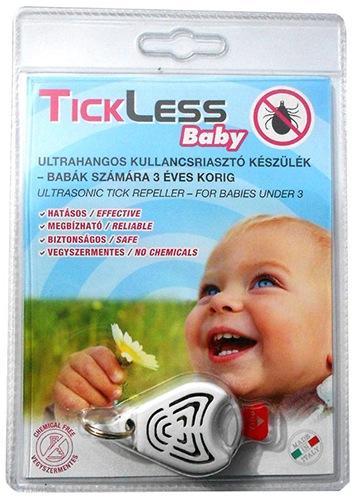 """Ультразвуковой отпугиватель клещей """"TickLess  Baby"""" в упаковке"""