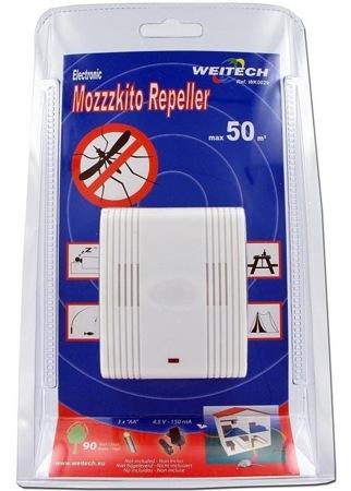 "Упаковка отпугивателя комаров ""Weitech WK0029"" (нажмите на фото для увеличения)"