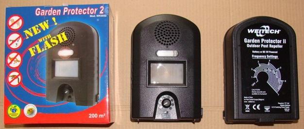 """После извлечения из упаковки отпугиватель """"Weitech WK0052"""" сразу готов к работе"""