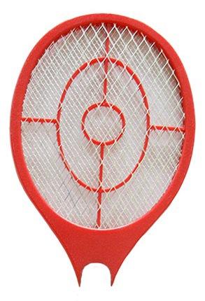 """Ракетка от комаров """"Weitech WK0071"""" оснащена сеткой с трехслойной конструкцией"""
