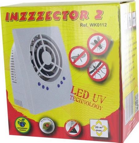 """Уничтожитель комаров и других насекомых """"Weitech WK0112"""" (INZZZEKTOR 2) поставляется в небольшой, красочной коробке"""