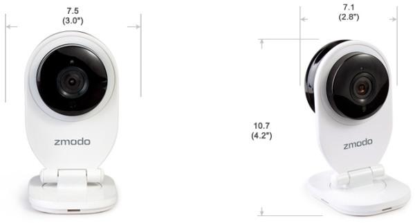 """IP-камера """"Zmodo SH721"""" отличается весьма компактными размерами"""