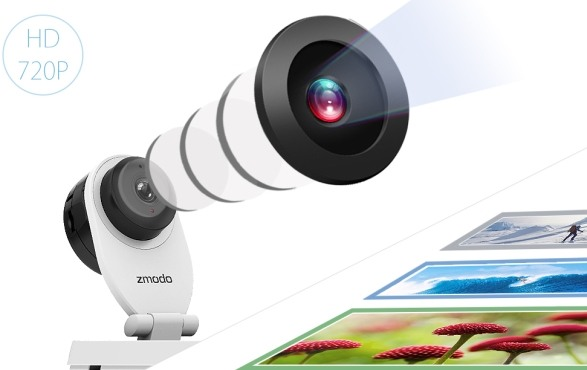 """IP-камера """"Zmodo SH721"""" имеет качественную широкоугольную оптику и видеосенсор высокого разрешения"""