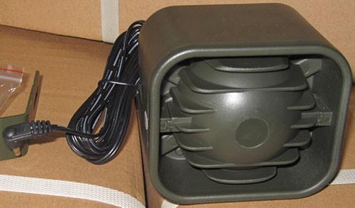 """Динамик """"Егерь AL-440"""" снабжен кабелем для подключения к манку длиной 2,4 м (нажмите, чтобы увеличить)"""